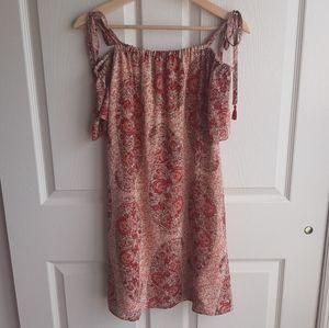 Madewell Festival Silk Paisley Tunic Dress Size XS
